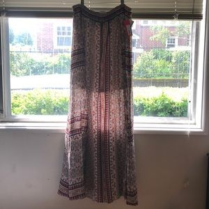 Xhilaration boho long skirt